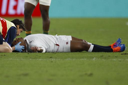 脳振とう交代のイングランド代表、ラグビーW杯決勝が「思い出せない」