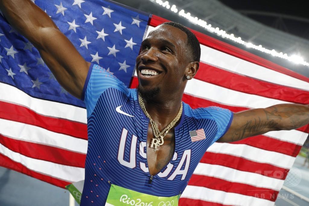 リオ五輪金の米国選手はドーピングで潔白と判明、原因は恋人とのキス