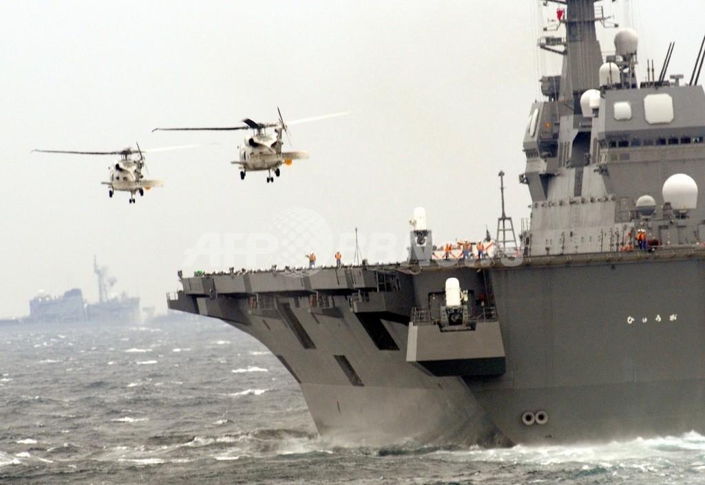 「空母3隻は必要」、中国軍少将