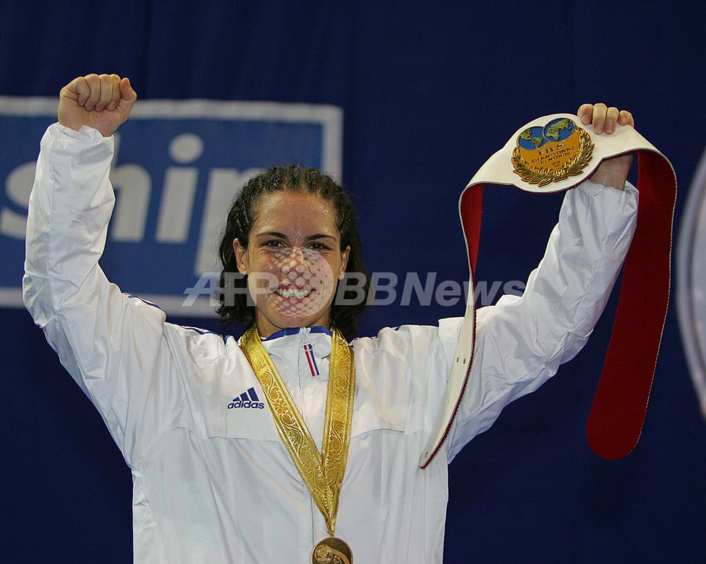 Prieto 女子59キログラム級で優勝