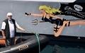 シー・シェパード抗議船、大波で船体に亀裂