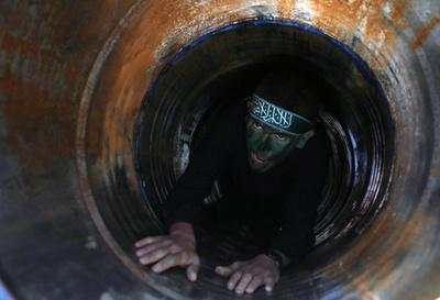 【AFP記者コラム】ハマス少年軍事キャンプの「卒業式」 パレスチナ自治区