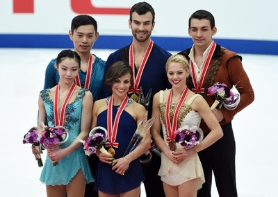 世界王者のデュアメル/ラドフォード組がペア優勝、NHK杯
