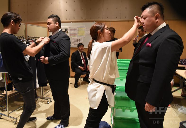 太め男子が華麗に変身、「東京ポッチャリコレクション」開催