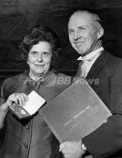 ノーベル賞受賞の米農学者、ボーローグ氏が死去 95歳