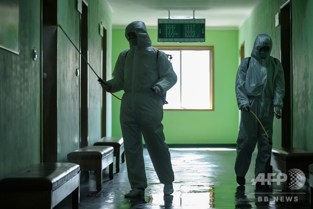 北朝鮮、新型コロナウイルス感染者はいまだ「ゼロ」と主張
