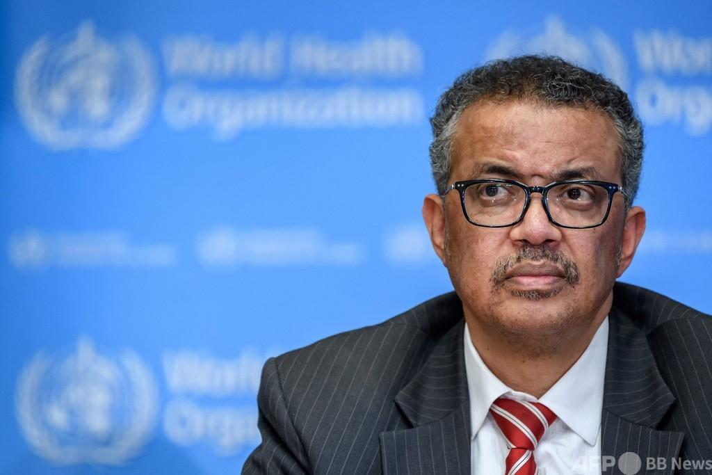 エチオピア軍、WHO事務局長を非難 「敵対勢力を支援」