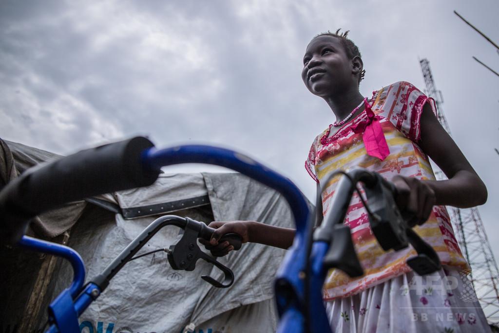 内戦の影に取り残される障害者たち、南スーダン