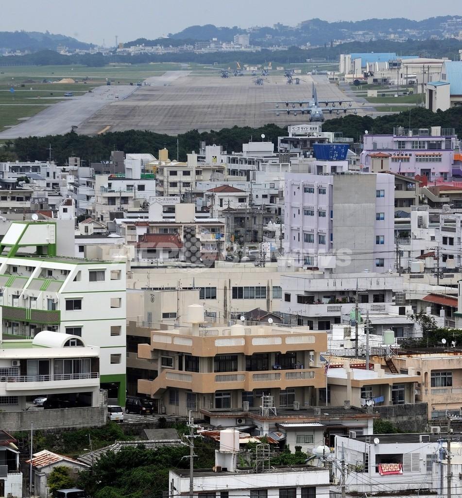 在沖縄米海兵隊9000人を国外移転、日米共同文書