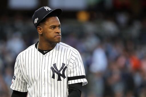 ヤンキースのセベリーノが今季絶望、右肘靱帯断裂でトミー・ジョン手術