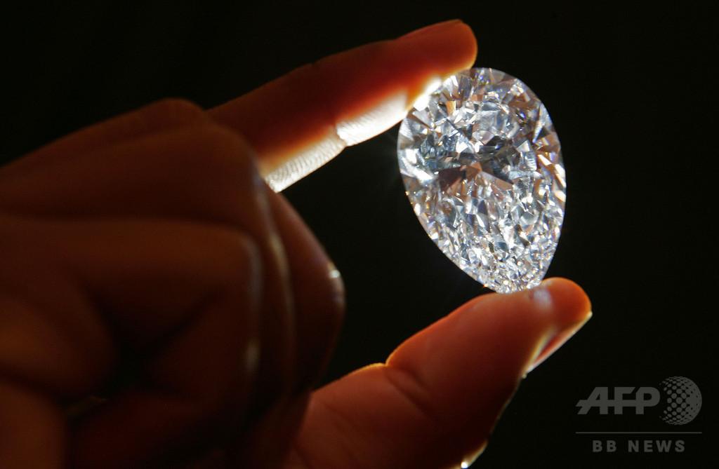 198カラット、ホワイトダイヤモンドの原石発見 レソト