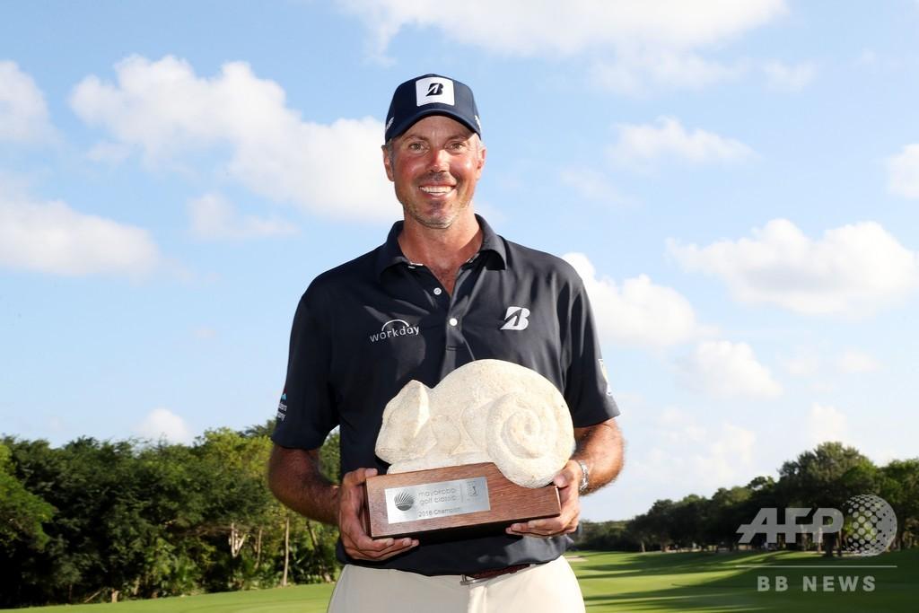 クーチャーが4年ぶりの米ツアー優勝、マヤコバ・ゴルフクラシック制す