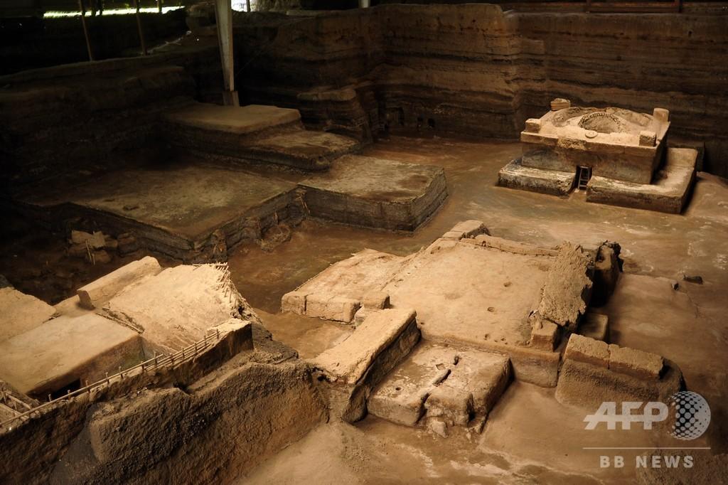 エルサルバドルの古代遺跡「マヤのポンペイ」で初の人骨発見