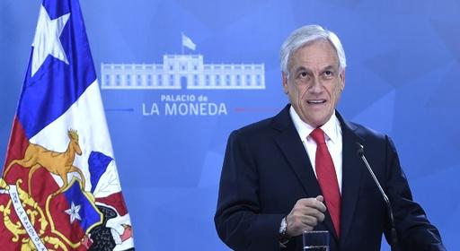チリ大統領、暴動受け国民に謝罪 基礎年金支給額や最低賃金の引き上げなど発表