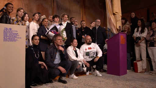 動画:新人クリエーターの登竜門、第34回イエール国際モード&写真フェスティバル受賞者発表