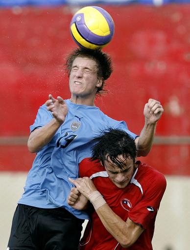 <サッカー 07南米ユース選手権>ウルグアイ チリと1-1で引き分ける - パラグアイ