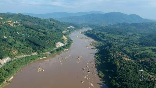 動画:中国の野望を妨げる「97キロ」 タイのメコン川