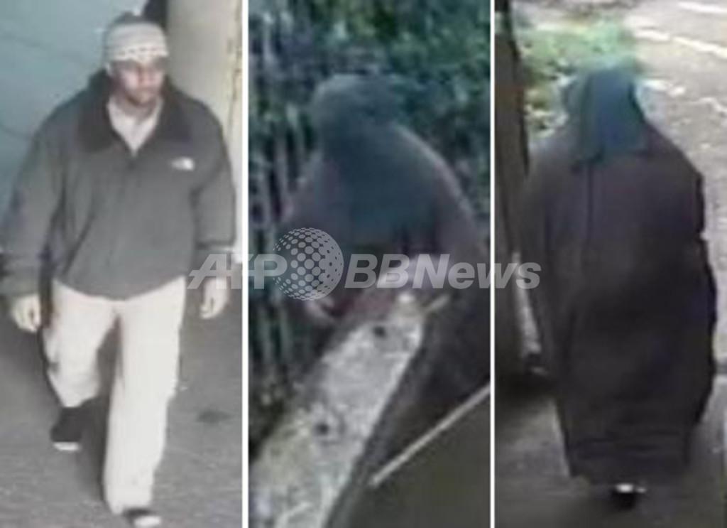 容疑者がブルカで女装し逃走、英テロ対策に疑問の声