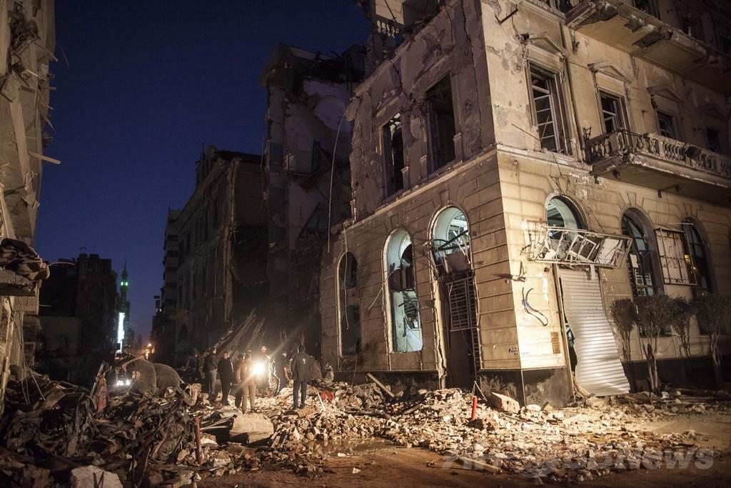 ムスリム同胞団をテロ組織に指定、エジプト暫定政権