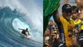 動画:ハワイ・オアフ島でサーフィン大会、ブラジル人優勝 2冠達成