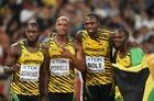 ジャマイカが男子4×100mリレー制す、ボルトが3冠達成―第15回世界陸上