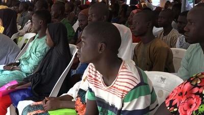 未成年者833人、反ボコ・ハラム民兵組織から正式離脱 ナイジェリア