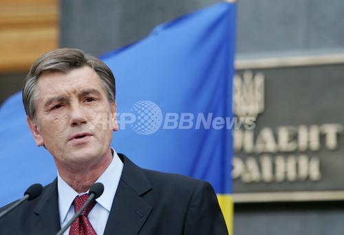 ウクライナ大統領、親ロシア派に連立呼びかけも盟友・ティモシェンコ氏は拒否
