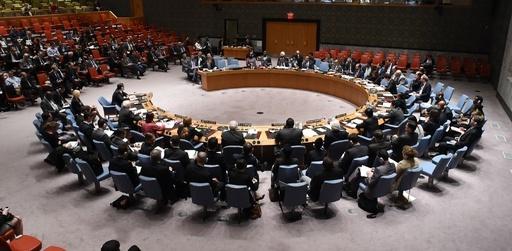 国連安保理で米露激突、ウクライナの軍投入宣言めぐり