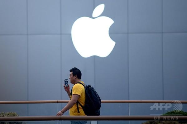 アップルユーザーの個人情報を販売、22人を拘束 中国