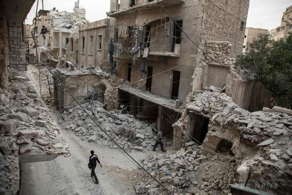 シリア軍、アレッポで2日間の停戦に合意 米露の圧力受け