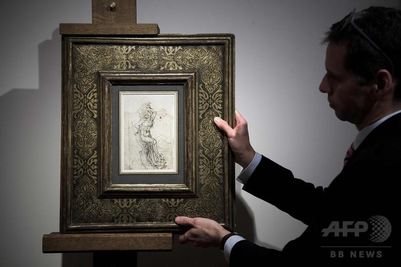 ダビンチの新たな素描、フランスで発見 18億円相当の価値