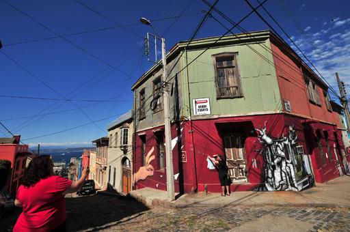 大火災のバルパライソ、「太平洋の宝石」と呼ばれた世界遺産都市
