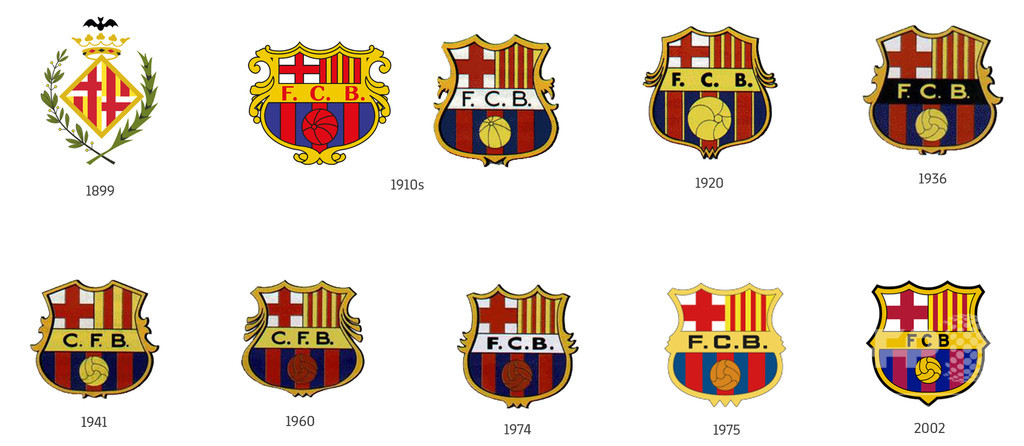 FCバルセロナが新エンブレムを発表、「FCB」の文字消える