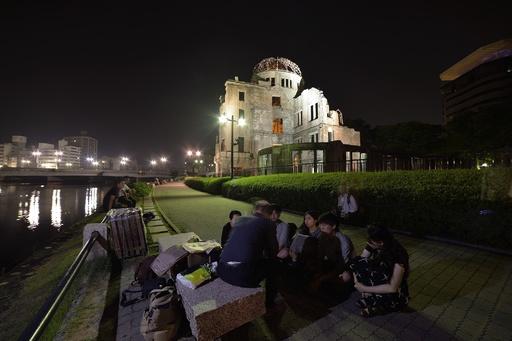 原爆投下から71年、広島で平和記念式典