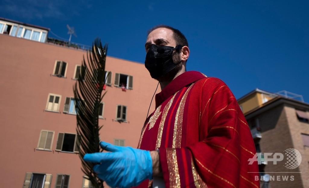新型コロナ、イタリアとスペインで明るい兆候 米NYでは死者4100人超える