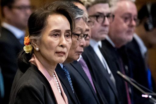 スー・チー氏、ロヒンギャ問題で国際司法裁に出廷