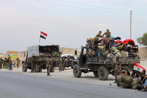 シリア政権軍とロシア軍、トルコ国境の要衝コバニに進軍