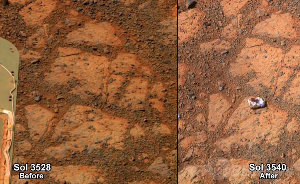 火星「ジャムドーナツ」の正体が判明、NASA