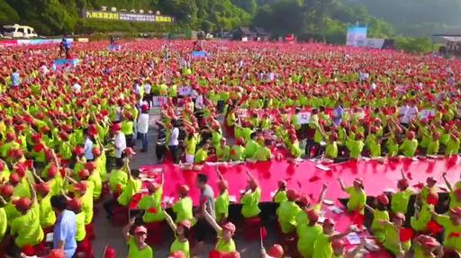 動画:屈原の故郷で9000人が「ちまき作り」、ギネスに認定 湖北・宜昌