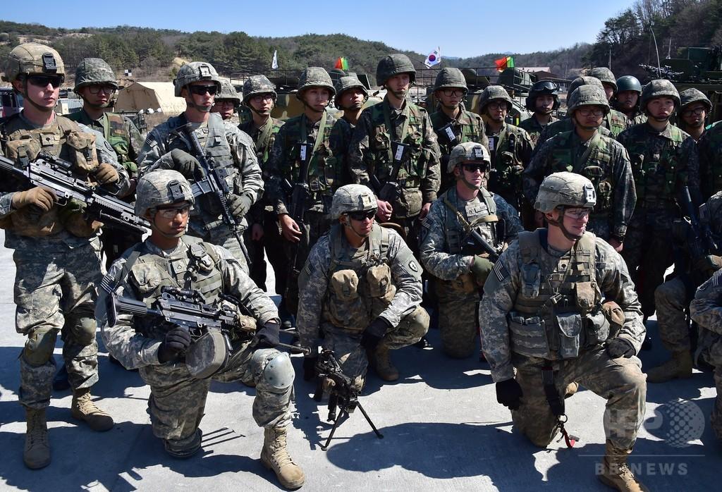 米軍、北の砲撃で韓国軍との合同演習を一時中断 その後再開
