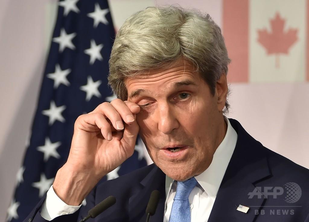米国務長官、広島初訪問に「感極まった」