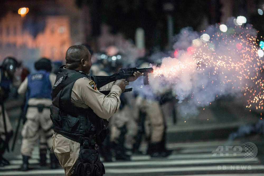 ゴム弾は安全ではない、死に至るケースも 米研究