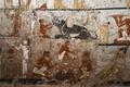 古代エジプトの巫女の墓を公開、ギザ西部墓地で発見 優れた壁画