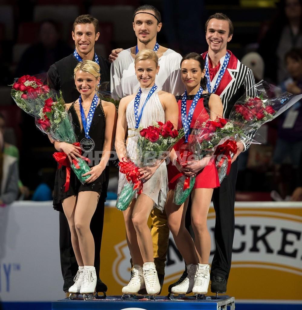 ボロソジャー/トランコフ組が世界最高得点でペア優勝、スケート・アメリカ