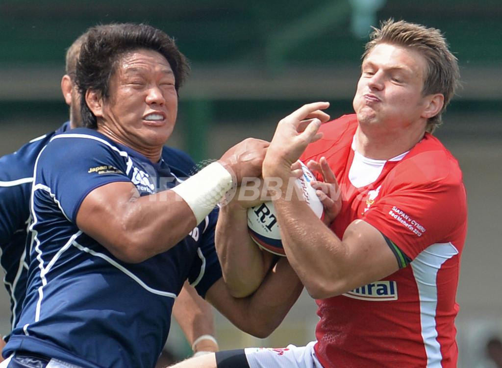 日本、ウェールズに逆転負け ラグビー国際親善試合