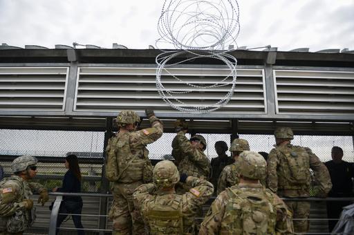 来年度もメキシコ国境に米兵配備、最大で5500人 国防総省
