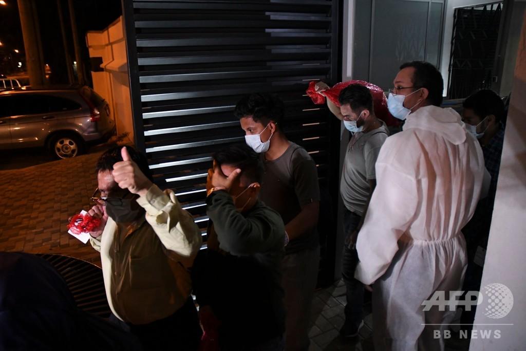グアテマラ、感染した移民の強制送還でトランプ氏非難