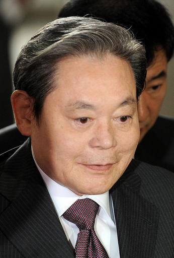 サムスングループの李元会長に執行猶予付きの判決、ソウル高裁