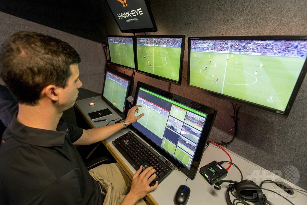 クラブW杯で「歴史的な」初導入へ、サッカーのビデオ判定