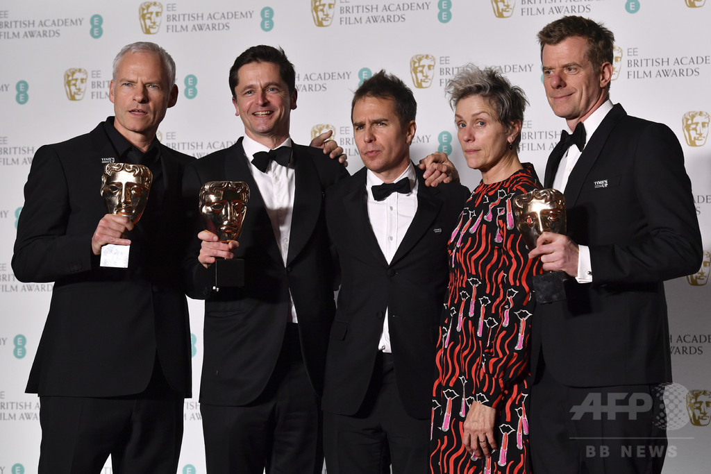 英国アカデミー賞も「黒ドレス」 セクハラ抗議で